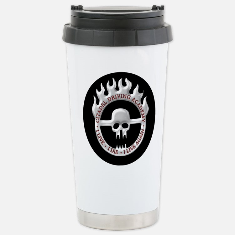 Cute Blue max Travel Mug