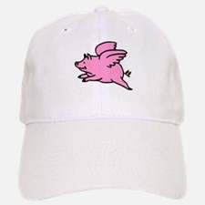 Flying Pig Baseball Baseball Cap
