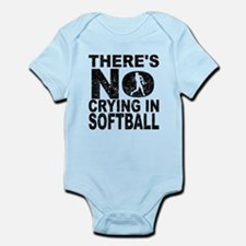 There's No Crying In Softball Body Suit