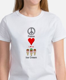 Cute I love ice cream Tee