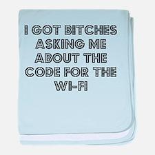 Wifi baby blanket