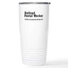 Cute Postal retirement Travel Mug