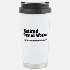 Cute Postal Travel Mug