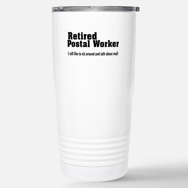 Cute Postal workers Travel Mug