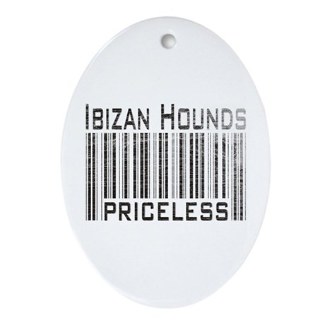 Ibizan Hound Owner Lover Bree Oval Ornament