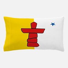 Flag of Nunavut - Authentic version Pillow Case