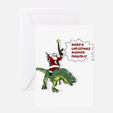 Santa's Coming to Town - Adult Greeting Cards
