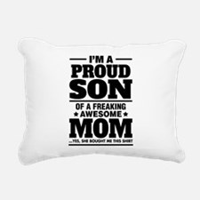 I'm A Proud Son Of A Freaking Awesome Mom Rectangu