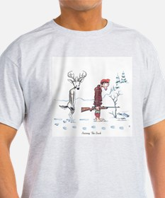 Cute Funny deer hunting T-Shirt