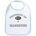 Property of a Masseuse Bib