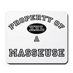 Property of a Masseuse Mousepad