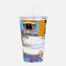 cat 567 Acrylic Double-wall Tumbler