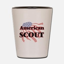 Unique Girl scout Shot Glass