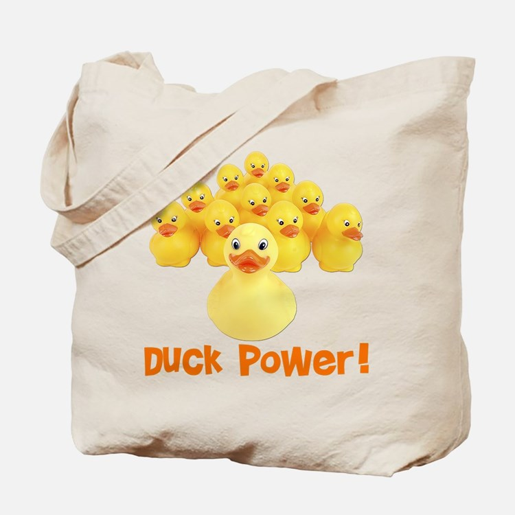 Duck Power! Tote Bag