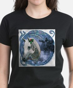 Unique Horse lover christmas Tee