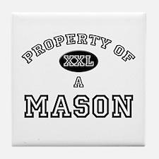 Property of a Mason Tile Coaster
