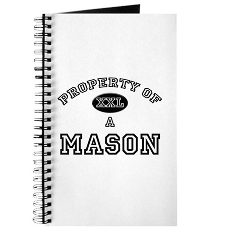 Property of a Mason Journal