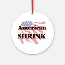 American Shrink Round Ornament