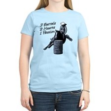 3 Barrels 2 hearts 1 passion. T-Shirt