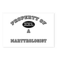 Property of a Martyrologist Postcards (Package of