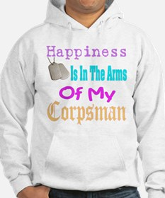 happiness is in the arms of m Hoodie