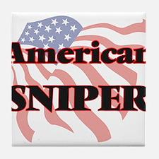 American Sniper Tile Coaster