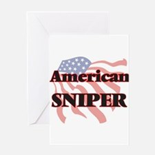 American Sniper Greeting Cards