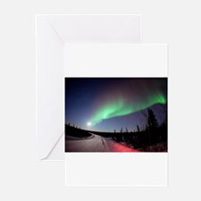 Unique Aurora borealis Greeting Cards (Pk of 20)