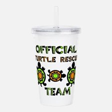 Official Turtle Rescue Acrylic Double-wall Tumbler