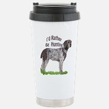 Funny German wirehaired pointer Travel Mug