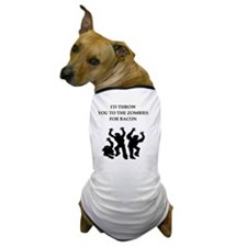 Cute Zombie bacon Dog T-Shirt