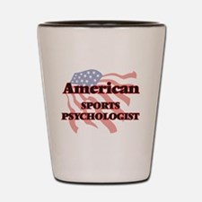 American Sports Psychologist Shot Glass