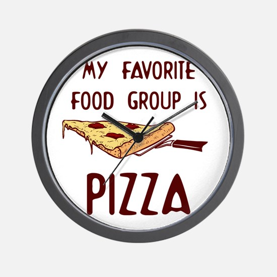 My Favorite Food.png Wall Clock