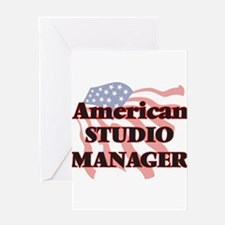 American Studio Manager Greeting Cards