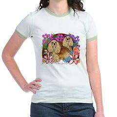Cocker Spaniel Jr. Ringer T-shirt