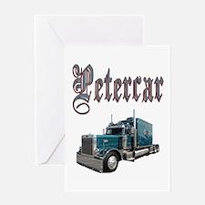 Petercar Greeting Card