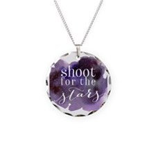 Cute Quote Necklace Circle Charm