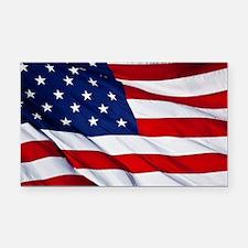 Cute American flag Rectangle Car Magnet