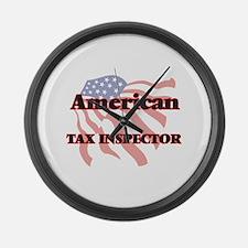 American Tax Inspector Large Wall Clock