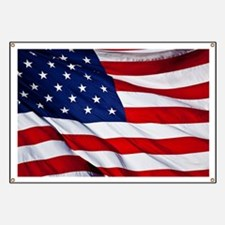 United States Flag in All Her Glory Banner