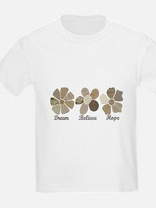 Dream Believe Hope Inspirational T-Shirt