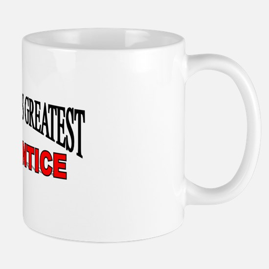 """The World's Greatest Apprentice"" Mug"