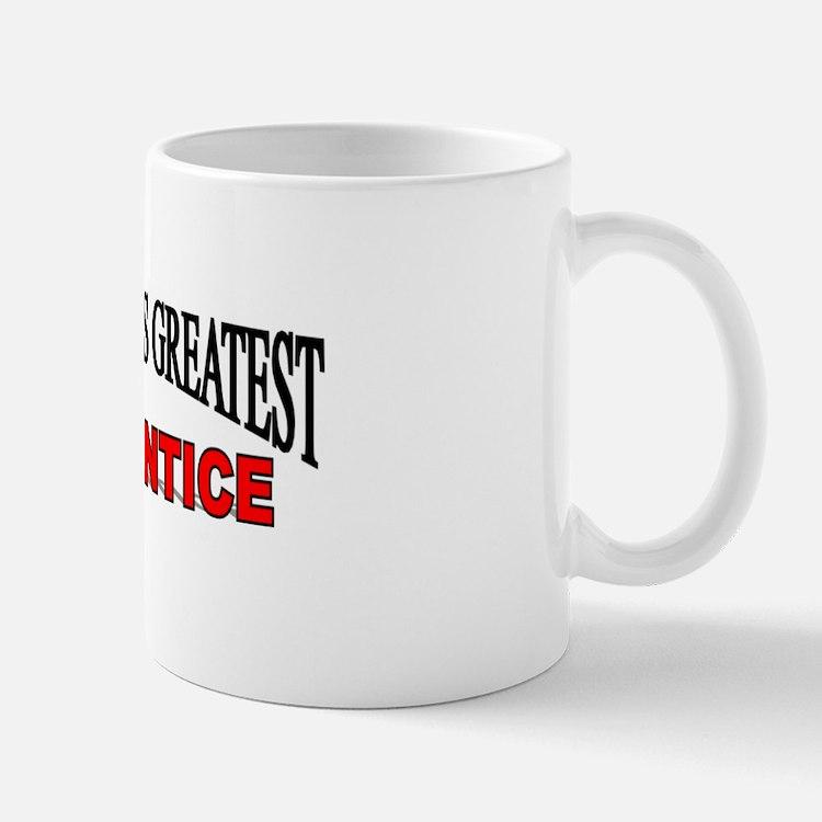 """The World's Greatest Apprentice"" Mug"
