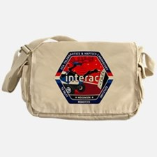 INTERACT Logo Messenger Bag