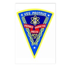 USS Proteus (AS 19) Postcards (Package of 8)