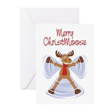 Merry Christmoose Greeting Cards (Pk of 20)