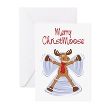Merry Christmoose Greeting Cards (Pk of 10)