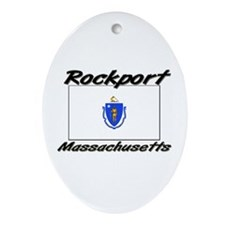 Rockport Massachusetts Oval Ornament