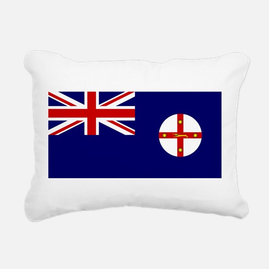 New South Wales Rectangular Canvas Pillow