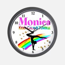 GYMNAST CHAMPION Wall Clock